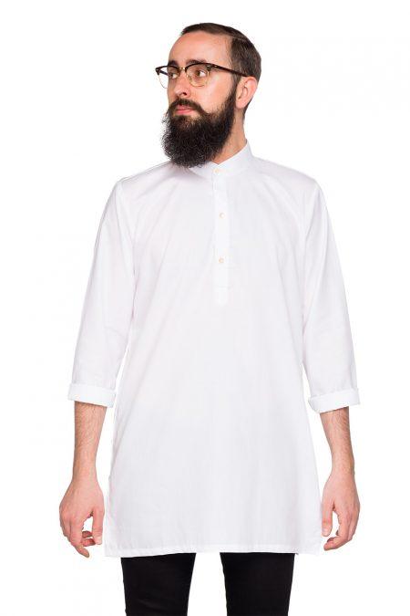 Maxi Camisa Punjab Blanco